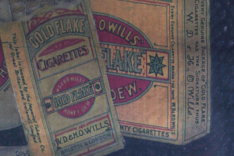 WILLS'S GOLD FLAKE TOBACCO ORIGINAL POSTER - Image 5 of 6