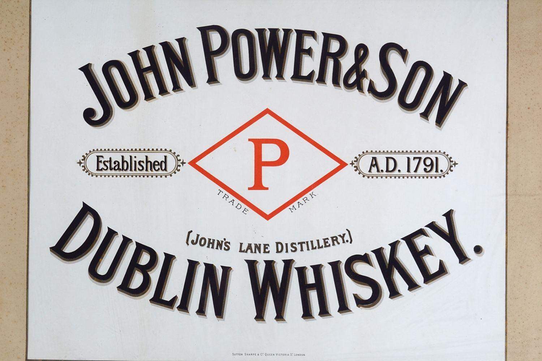 JOHN POWER & SON WHISKEY ORIGINAL POSTER - Image 2 of 5