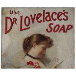 USE DR. LOVELACE'S SOAP ORIGINAL VINTAGE POSTER