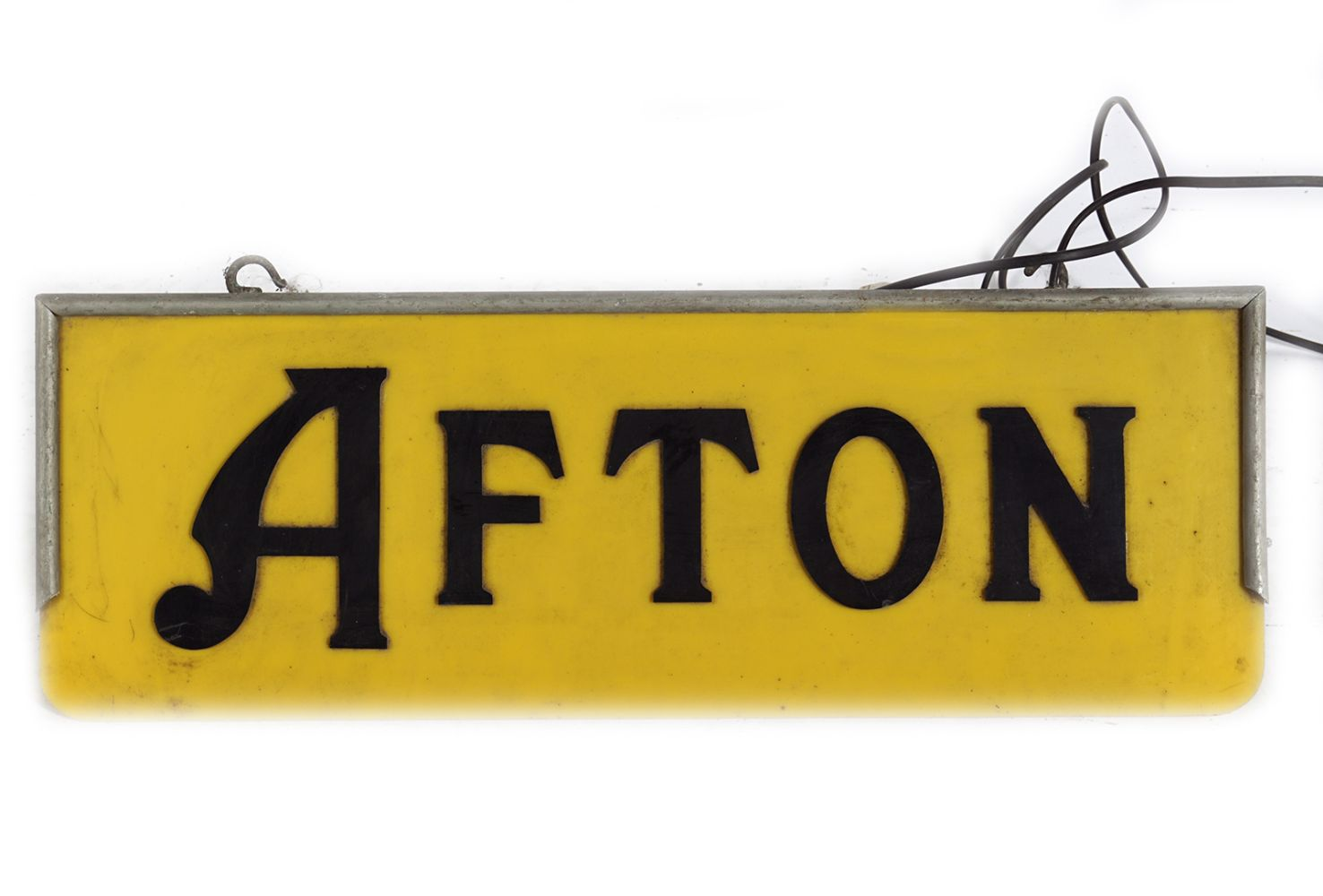 AFTON ELECTRIC ADVERTISING SIGN
