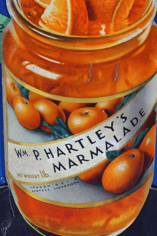 WM. P. HARTLEY'S MARMALADE ORIGINAL VINTAGE POSTER - Image 3 of 4