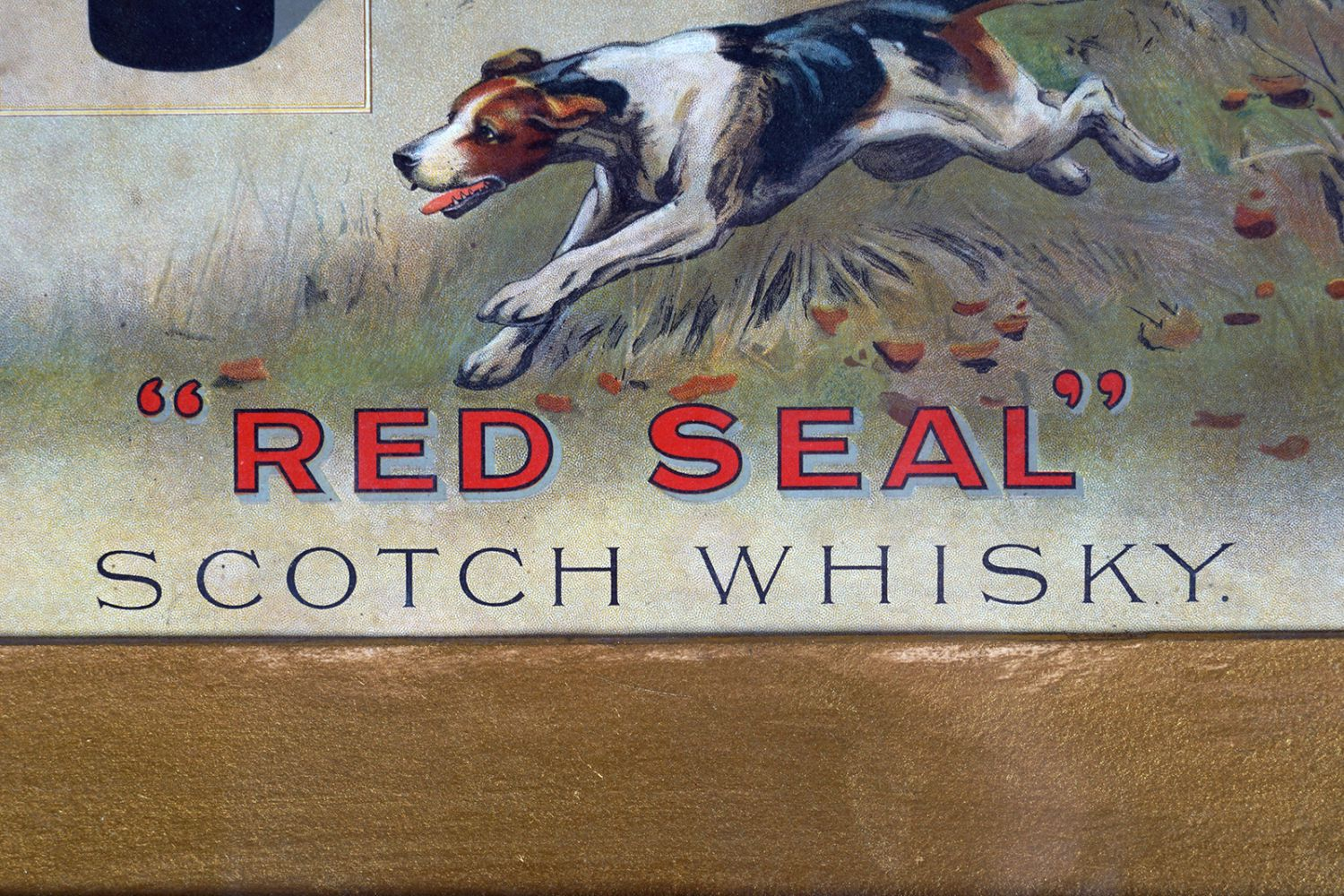 BUCHANAN'S 'RED SEAL' SCOTCH WHISKY POSTER - Image 3 of 4