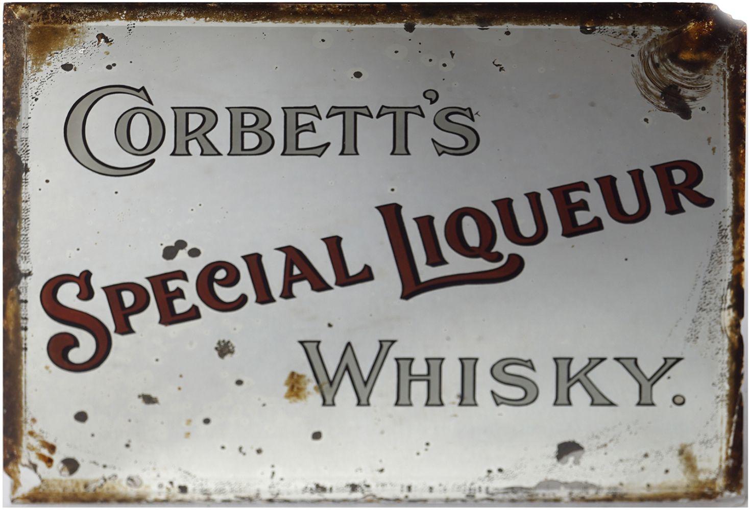 CORBETT'S SPECIAL LIQUEUR WHISKY ORIGINAL MIRROR