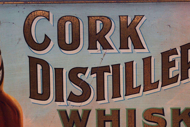CORK DISTILLERIES CO. LTD WHISKY ORIGINAL POSTER - Image 3 of 4