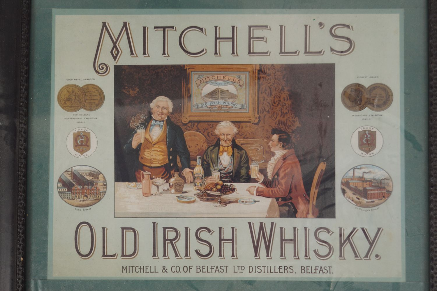 MITCHELL'S OLD IRISH WHISKY POSTER - Image 2 of 2