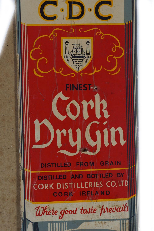 C.D.C. CORK DRY GIN ORIGINAL POSTER - Image 3 of 4