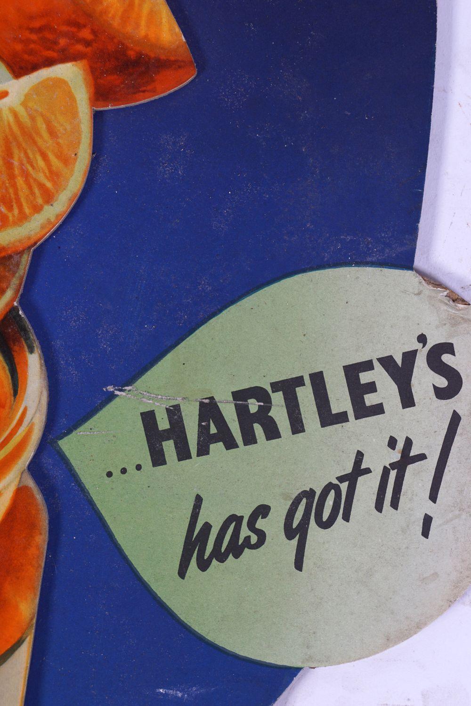 WM. P. HARTLEY'S MARMALADE ORIGINAL VINTAGE POSTER - Image 4 of 4