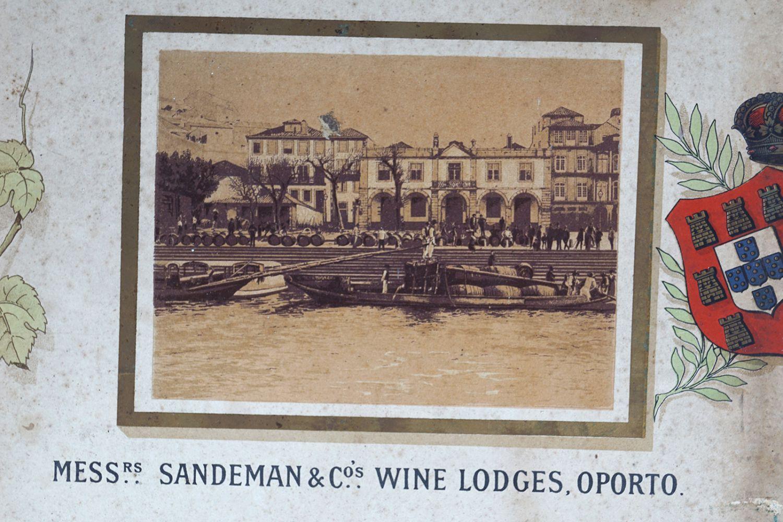 SANDEMAN'S PORTS & SHERRIES ORIGINAL POSTER - Image 2 of 6