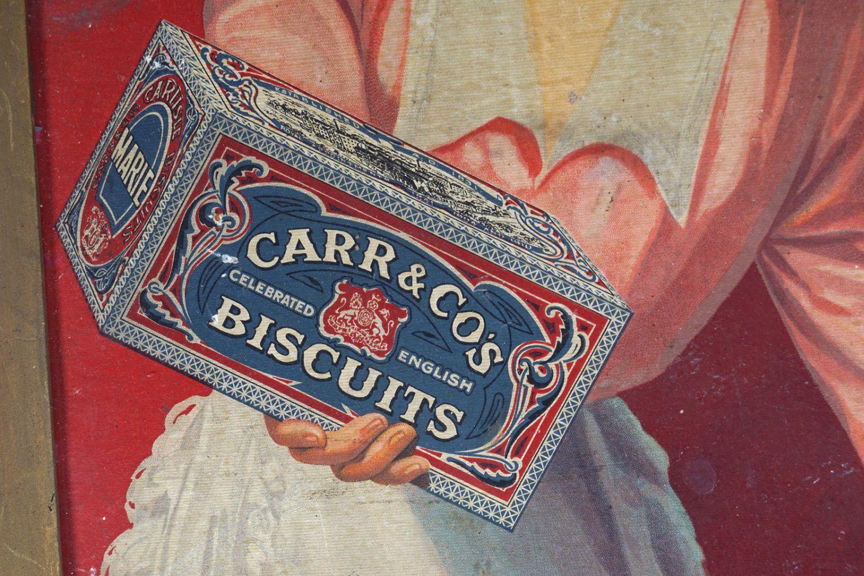 CARR & CO'S BISCUITS ORIGINAL VINTAGE POSTER - Image 3 of 3