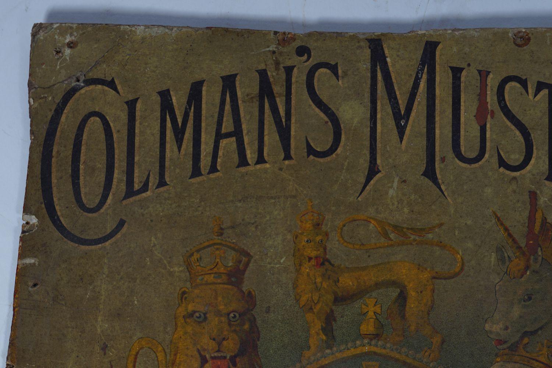 ORIGINAL COLMAN'S MUSTARD POSTER - Image 2 of 5