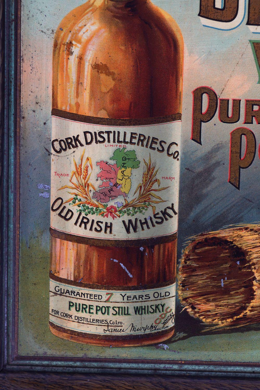 CORK DISTILLERIES CO. LTD WHISKY ORIGINAL POSTER - Image 2 of 4