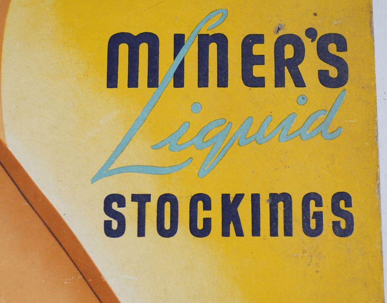 MINER'S LIQUID STOCKINGS ORIGINAL POSTER - Image 3 of 4