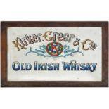 KIRKER GREER & CO'S ORIGINAL PUB MIRROR