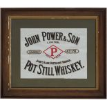 JOHN POWER & SON ORIGINAL POSTER