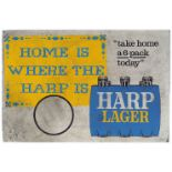 HOME IS WHERE THE HARP IS ORIGINAL POSTER