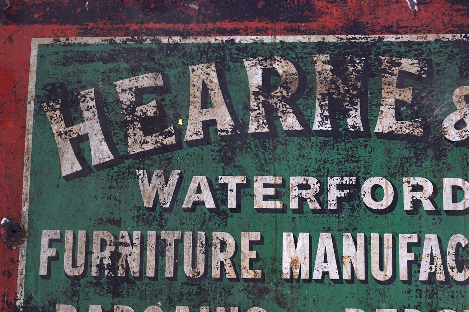 HEARNE & CO WATERFORD LTD. SIGN - Image 2 of 3