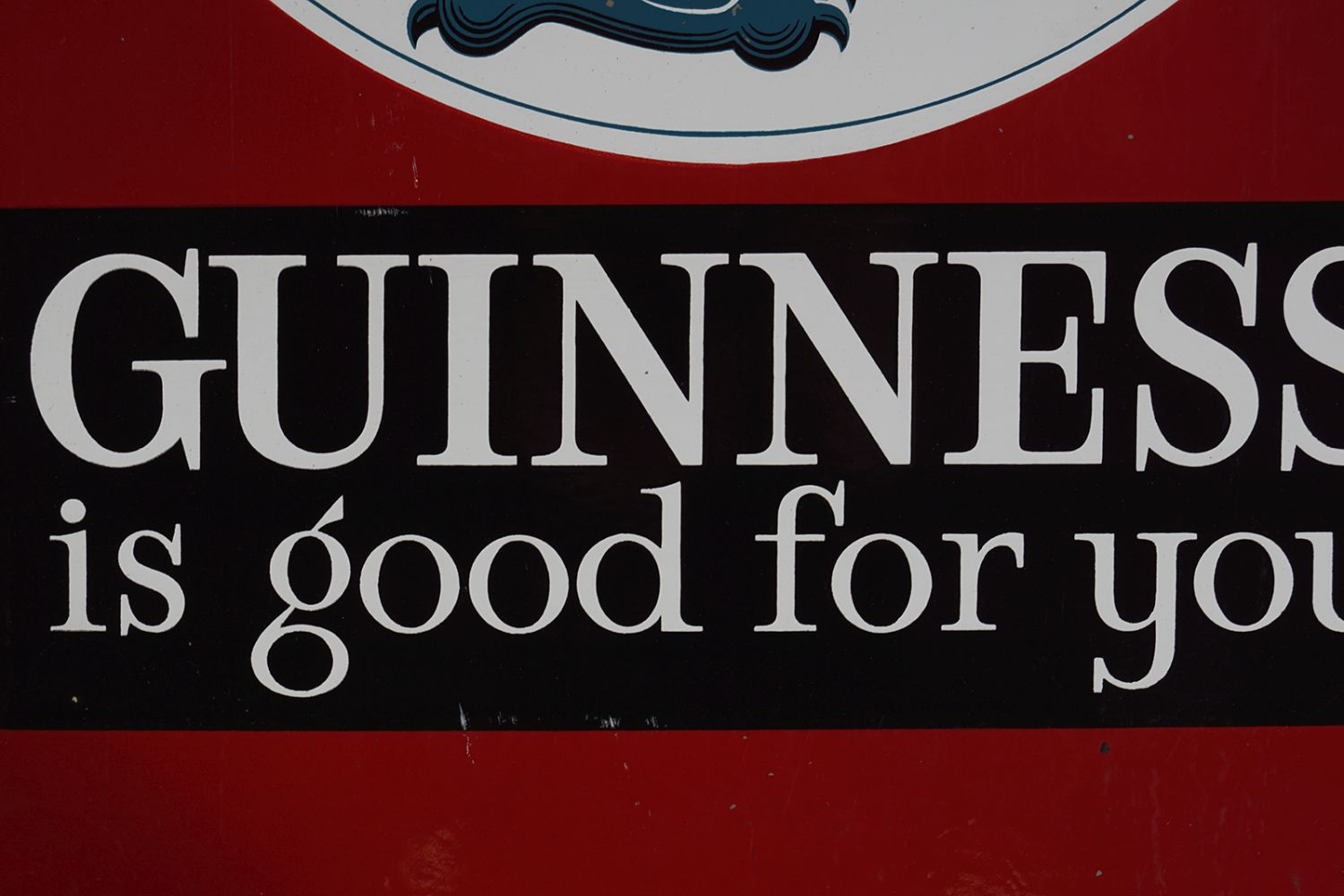 GUINNESS IS GOOD FOR YOU ORIGINAL SIGN - Image 3 of 5