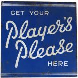 GET YOUR PLAYER'S PLEASE HERE ORIGINAL SIGN