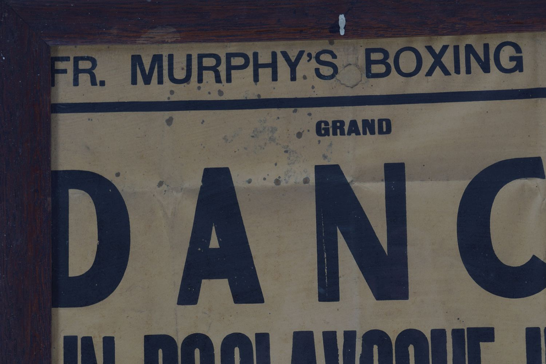 FR. MURPHY'S BOXING CLUB ORIGINAL POSTER - Image 2 of 5