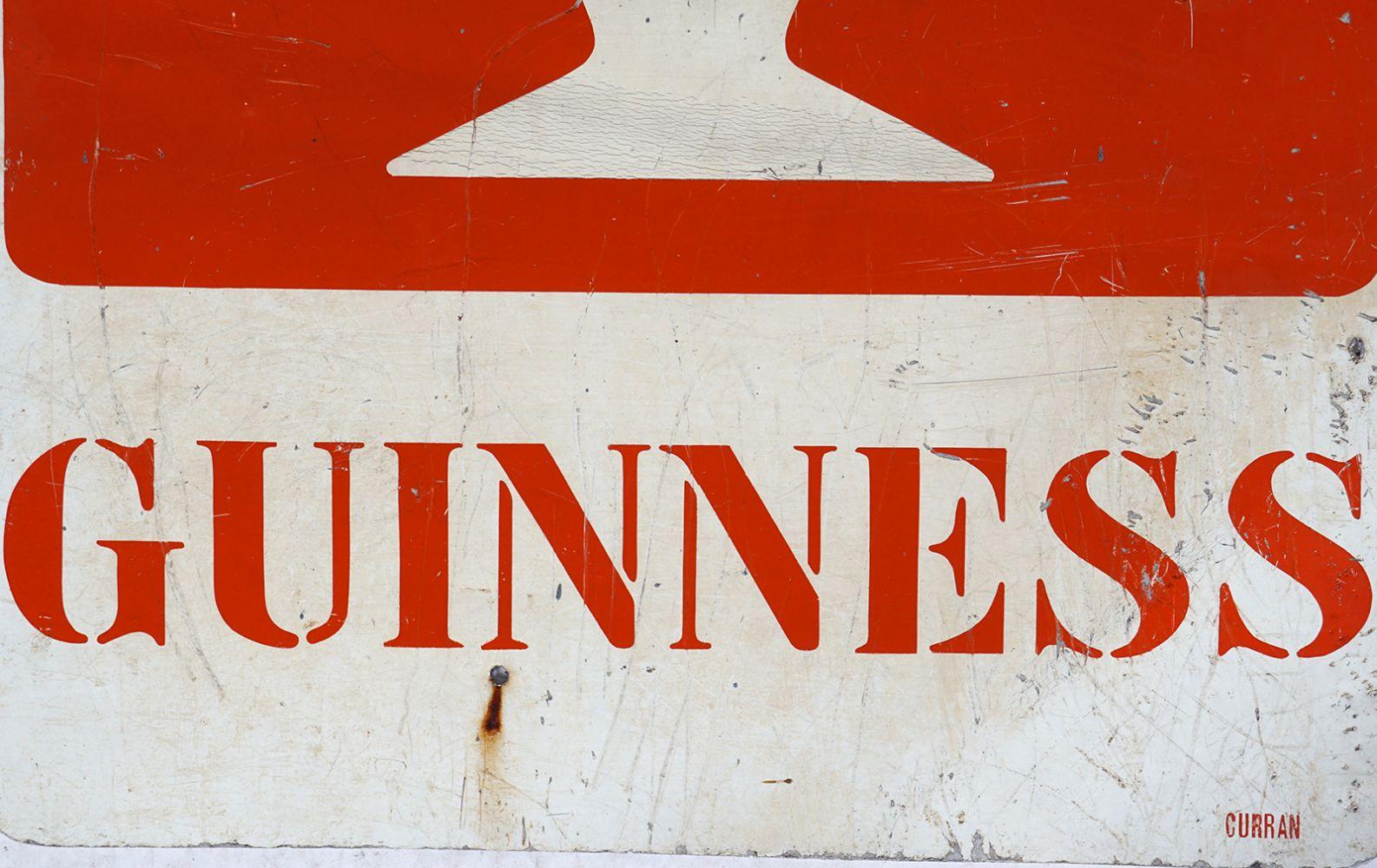 GUINNESS ORIGINAL VINTAGE POSTER - Image 2 of 5
