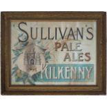 SULLIVAN'S PALE ALES KILKENNY ORIGINAL POSTER