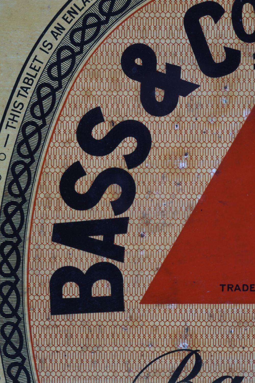 BASS & CO'S PALE ALE ORIGINAL VINTAGE POSTER - Image 2 of 7