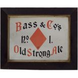 BASS & CO'S NO. 1 OLD STRONG ALE ORIGINAL POSTER