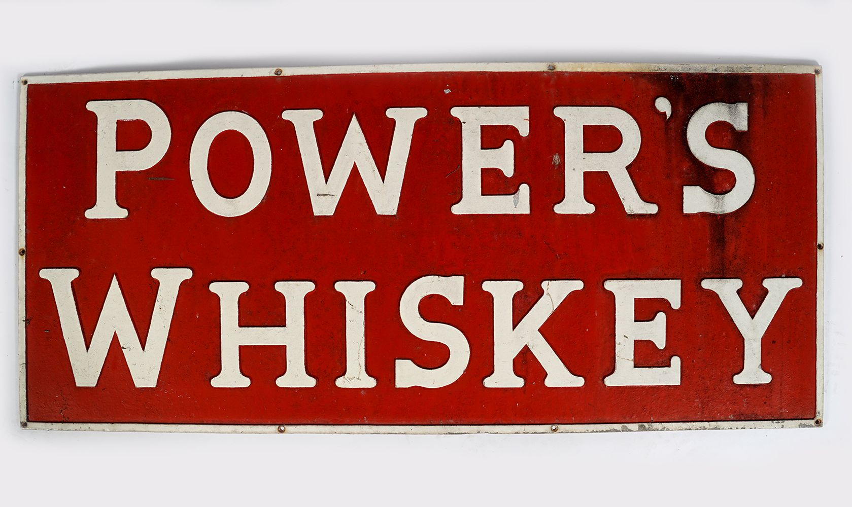 POWER'S WHISKEY ADVERTISING SIGN - Image 2 of 3
