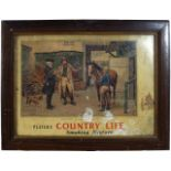 PLAYERS COUNTRY LIFE ORIGINAL POSTER