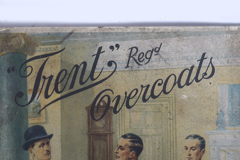 TRENT OVERCOATS ORIGINAL VINTAGE POSTER - Image 2 of 5
