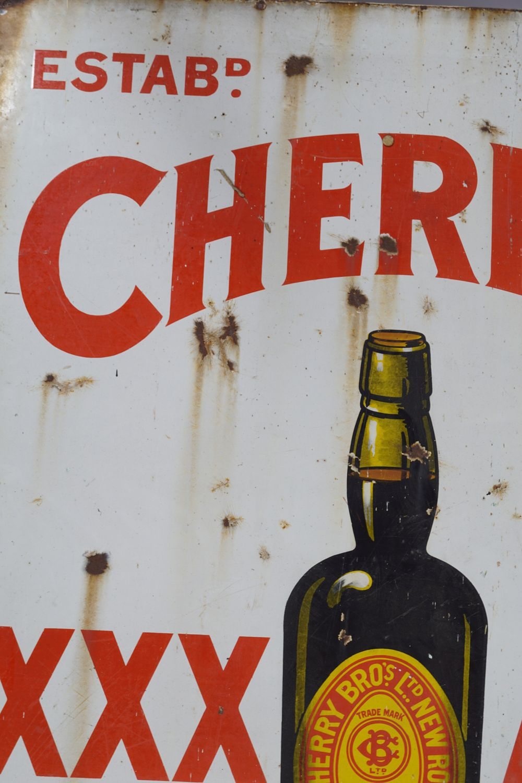 CHERRY'S XXX ALE ORIGINAL SIGN - Image 3 of 3