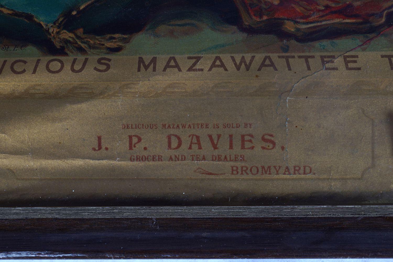 DELICIOUS MAZAWATTEE TEA CALENDAR 1898 - Image 2 of 8