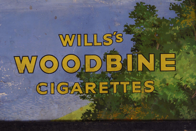 WILLS'S WOODBINE CIGARETTES ORIGINAL POSTER - Image 2 of 4