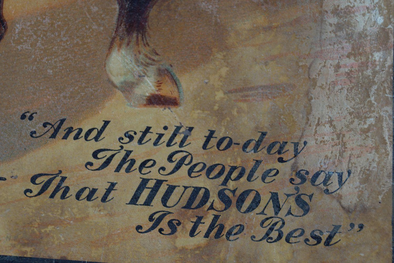 "HUDSON'S ""THE BEST"" SOAP ORIGINAL POSTER - Image 3 of 3"