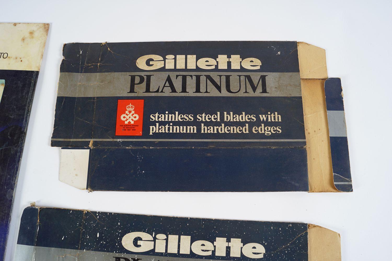 GILLETTE SUPER SILVER POSTER ON METAL - Image 3 of 4