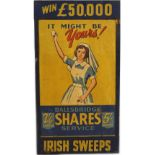 IRISH SWEEPS ORIGINAL POSTER