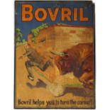 ORIGINAL VINTAGE BOVRIL POSTER ART
