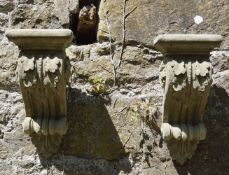 MOULDED STONE CORBEL