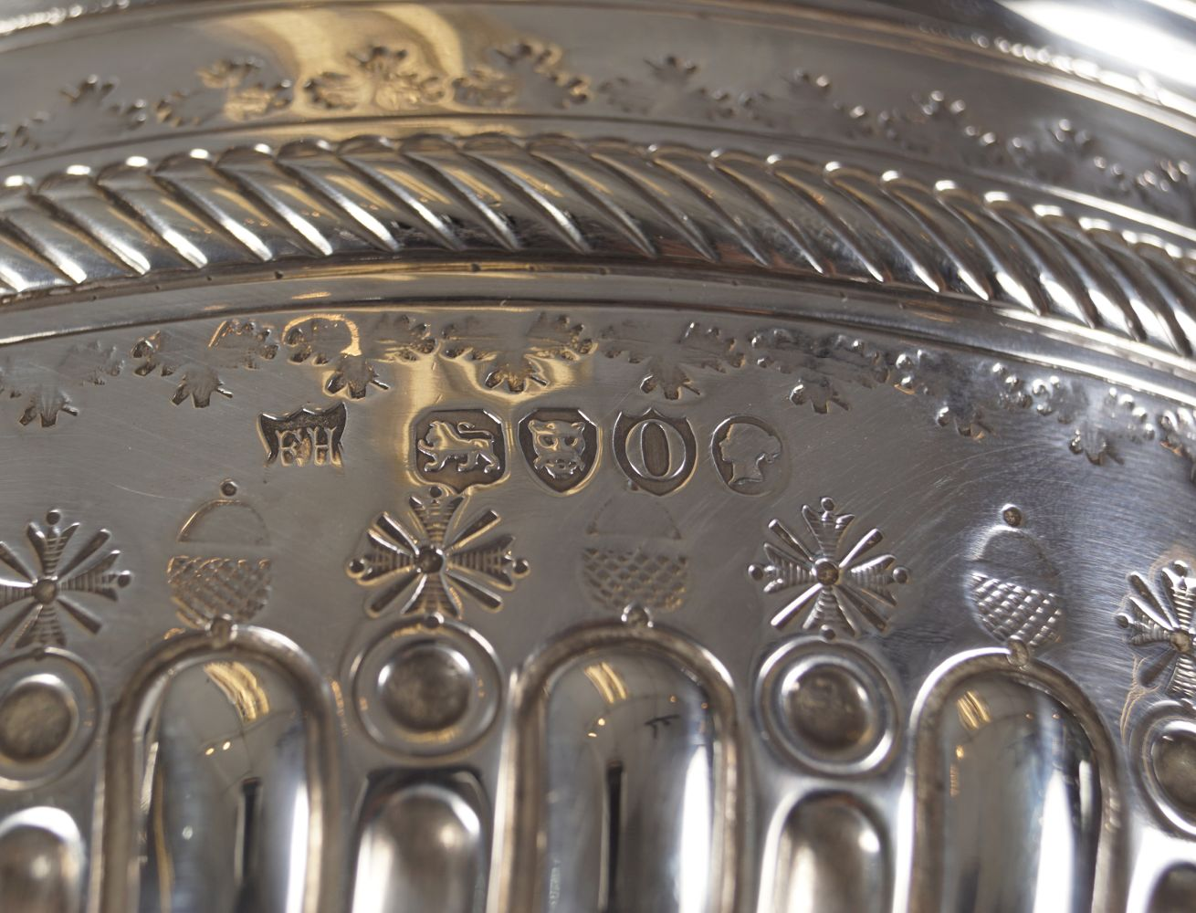 SILVER FRUIT BOWL - Image 4 of 4