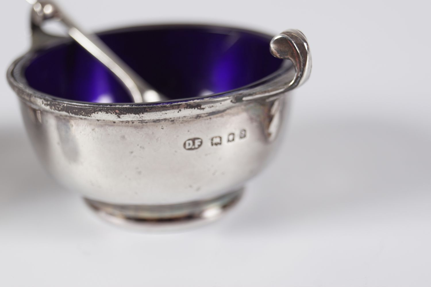 PAIR OF SILVER CONDIMENTS - Image 6 of 6