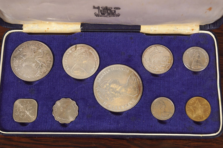 1966 ELIZABETH II BAHAMA ISLAND COINS
