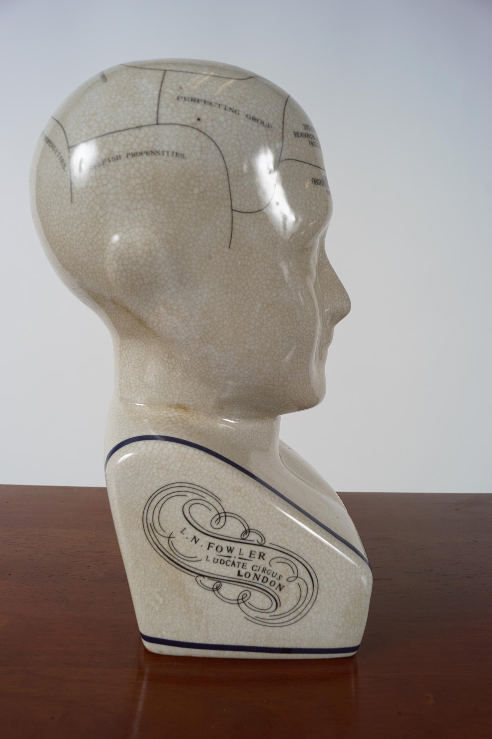 PHRENOLOGY HEAD - Image 4 of 4
