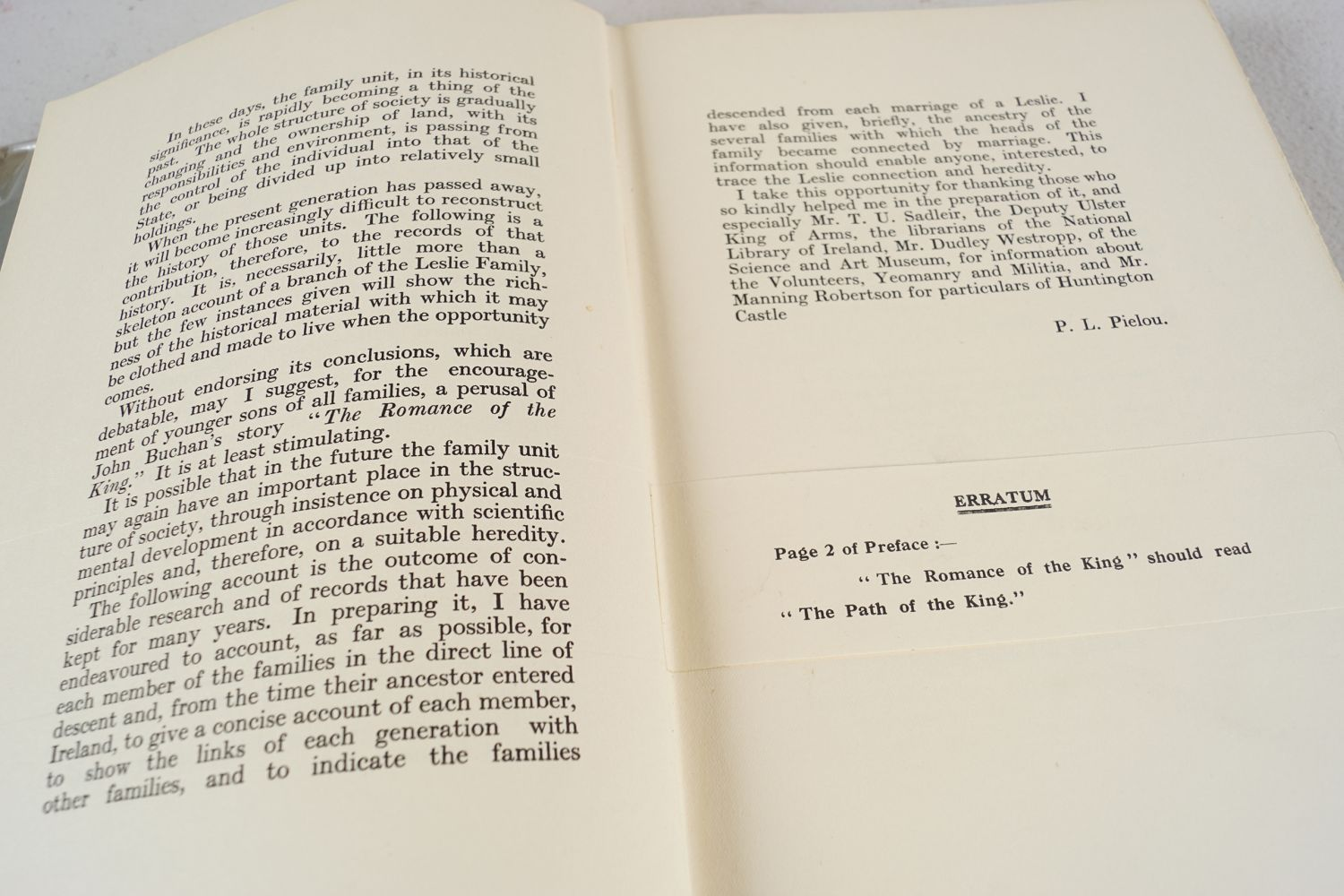 BOOK: THE LESLIES OF TARBERT CO. KERRY - Image 6 of 7