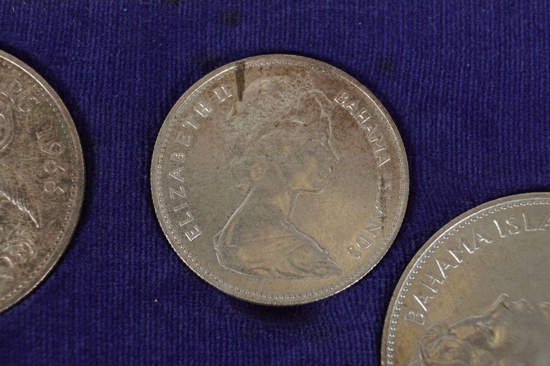 1966 ELIZABETH II BAHAMA ISLAND COINS - Image 4 of 7