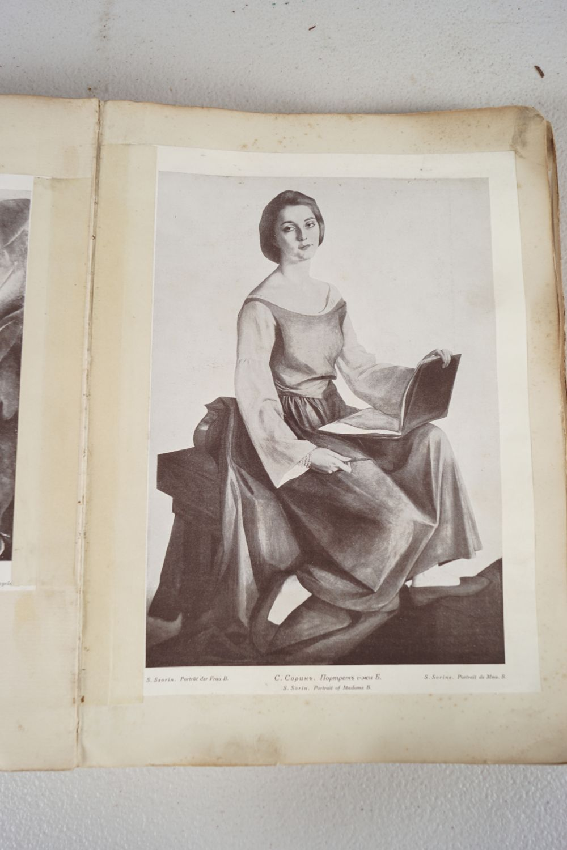 BOOK: RUSSIAN SCRAP BOOK - Image 4 of 5