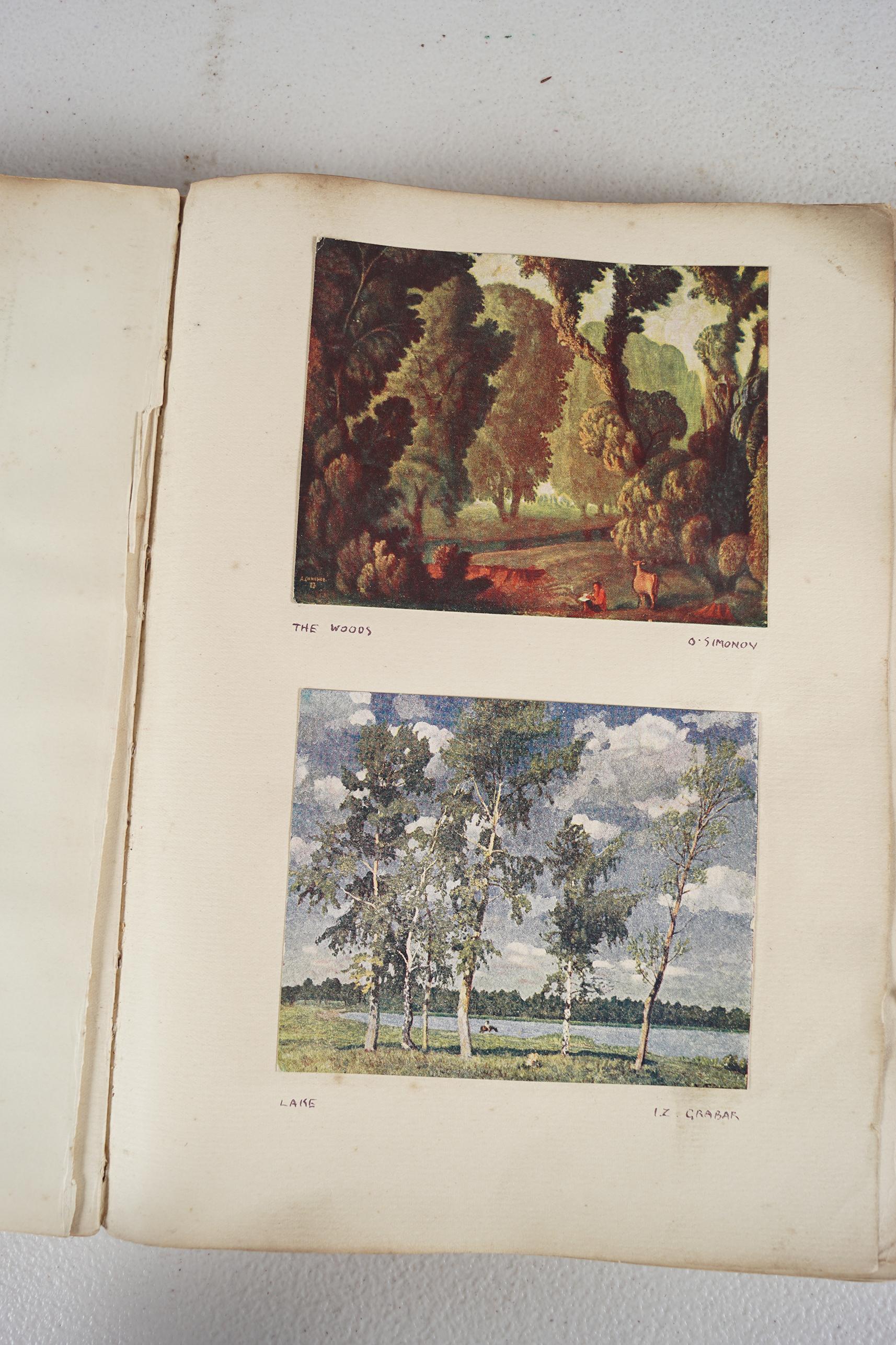 BOOK: RUSSIAN SCRAP BOOK - Image 3 of 5