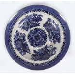 18TH/19TH-CENTURY CHINESE BLUE AND WHITE PLATE