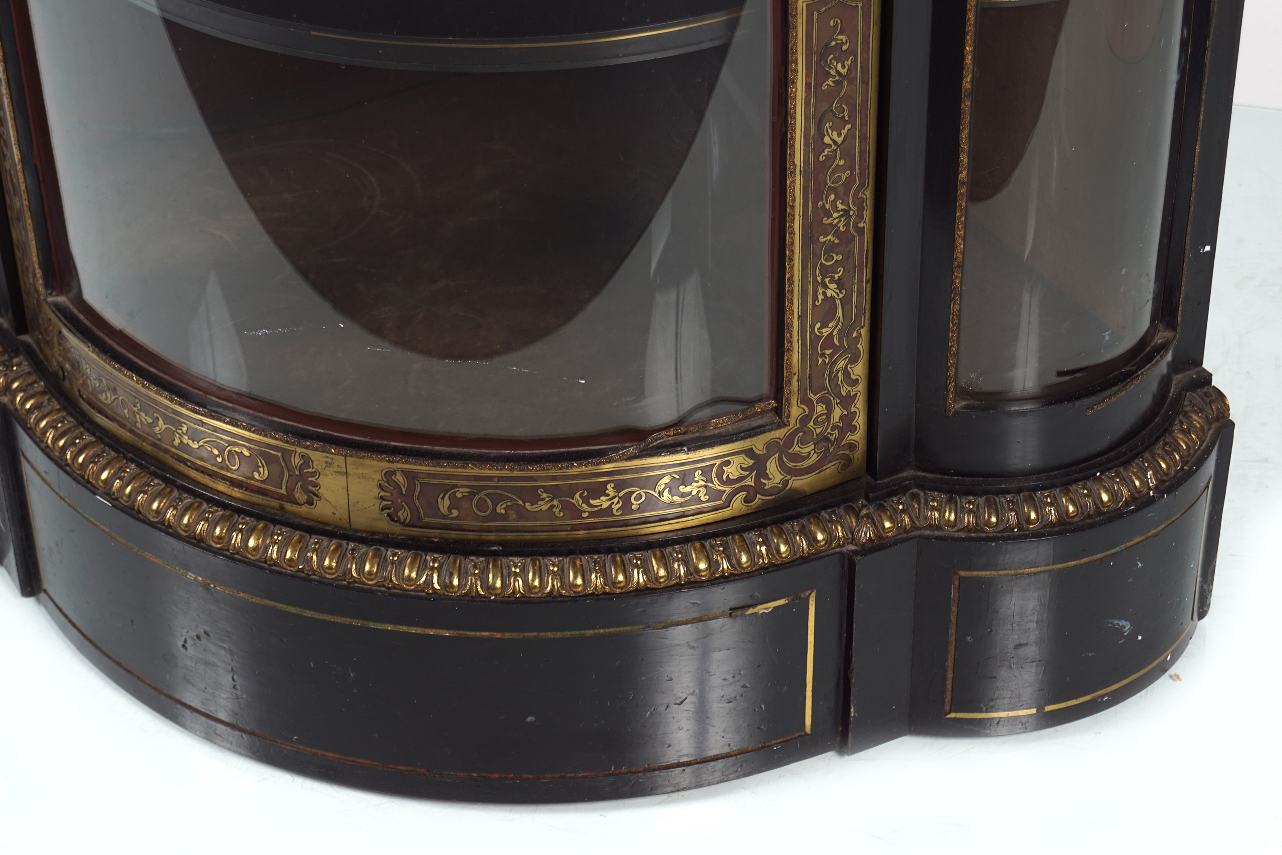 19TH-CENTURY BUHL CABINET - Image 4 of 4