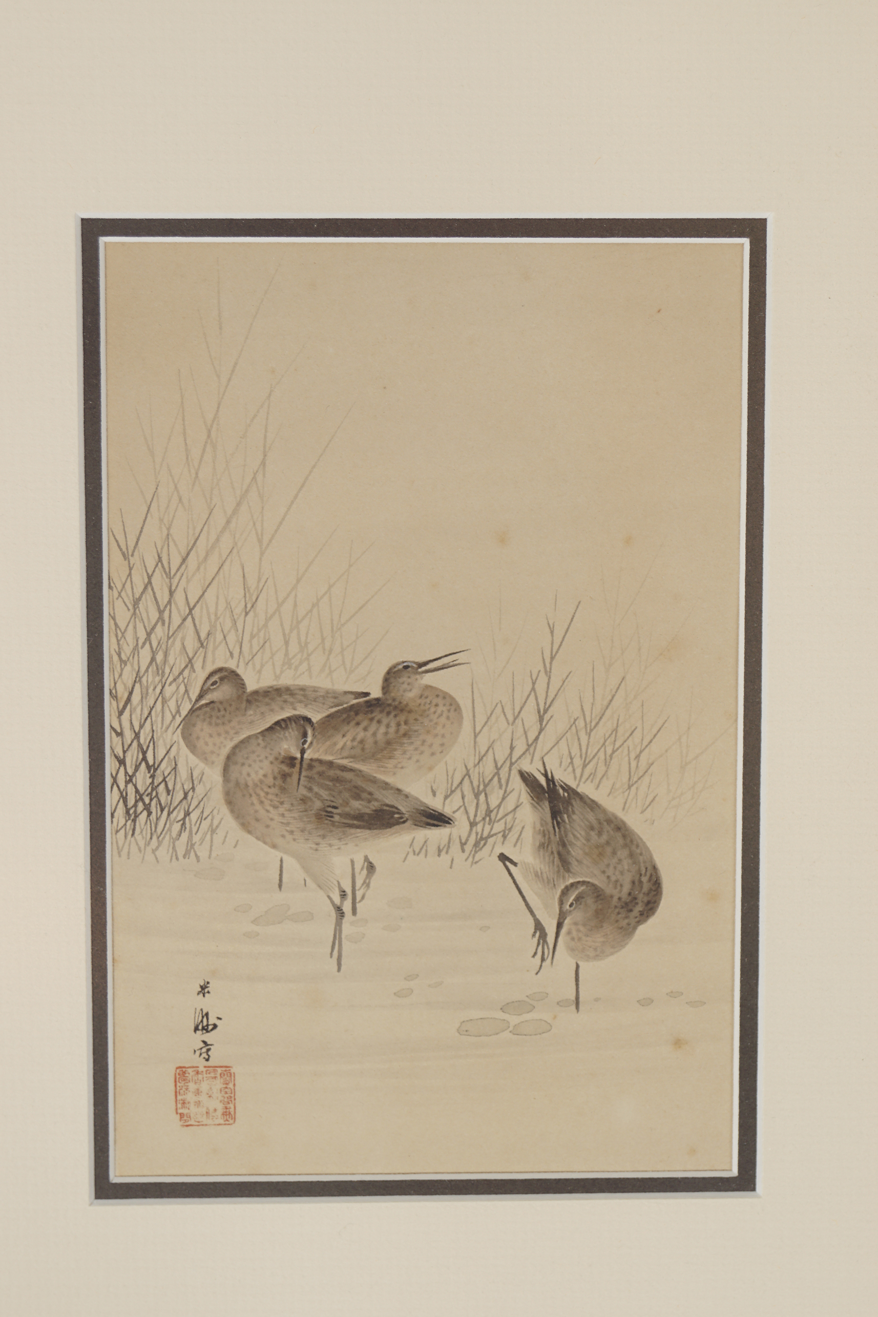 PAIR OF JAPANESE WOODBLOCK PRINTS - Image 2 of 3