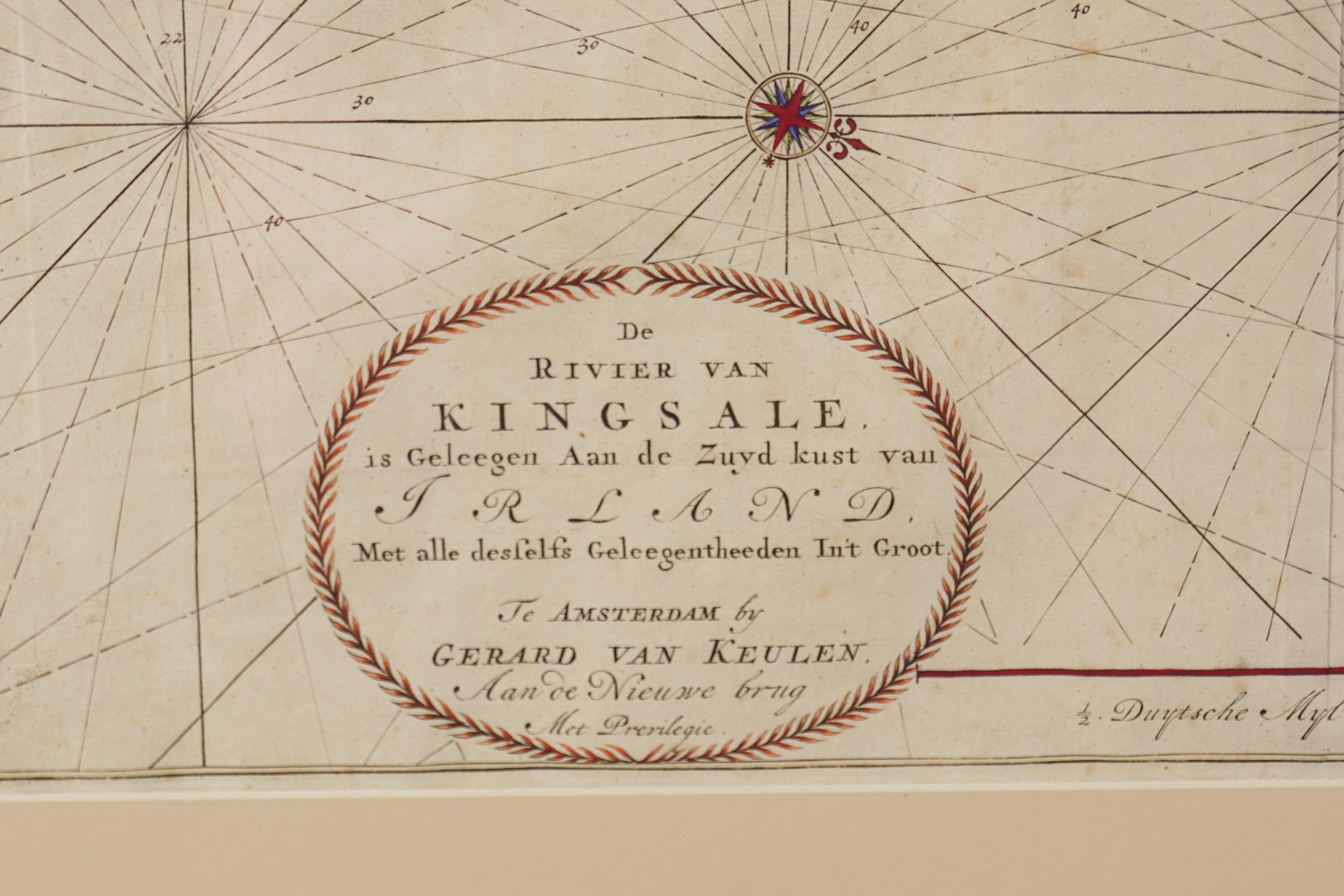 JOHNANNES VAN KEULEN (C. 1654-1715) - Image 3 of 3